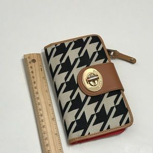 Spartina 449 Bags - Spartina Houndstooth Pattern Wallet